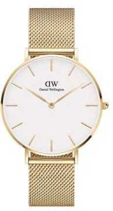 Часы Daniel Wellington DW00100346 Petite 36 Evergold G White