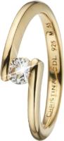 Кольцо CC 800-3.14.B/49 Supernova goldpl silver