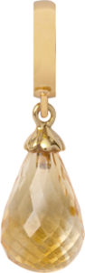 Christina Charms hangers - citrine drop 610-G01Citrine