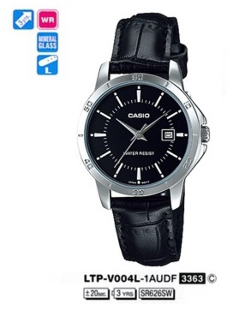 ☰ Купить Женские часы Casio LTP-V004L-1A по лучшей цене  интернет ... 528e56713b07e
