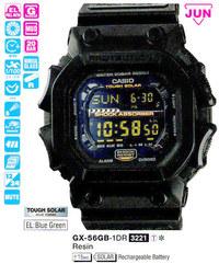 Часы CASIO GX-56GB-1ER - Дека