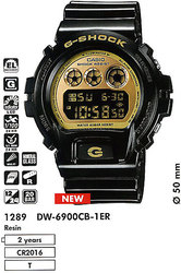 Часы CASIO DW-6900CB-1ER - Дека