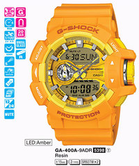 Часы CASIO GA-400A-9AER - Дека