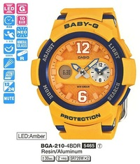Часы CASIO BGA-210-4BER - Дека