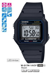 Часы CASIO W-217H-1AVEF - Дека