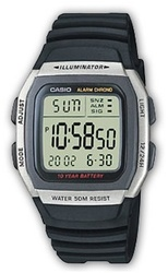 Часы CASIO W-96H-1AVEF - Дека