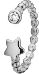 Кольцо CC 800-2.13.A/61 Single Star silver  - Дека
