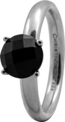 Кольцо CC 800-3.1.A/49 Black Onyx silver  - Дека