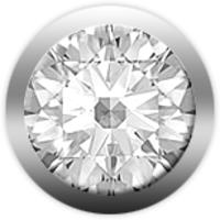Камень CHRISTINA 146 бриллиант белый - Дека
