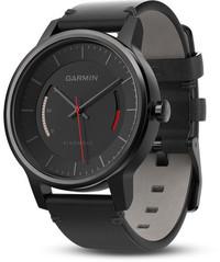 Смарт-часы Garmin Vívomove Classic, Black with Leather Band - Дека